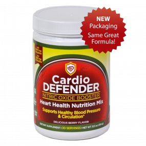 Cardio Defender with new packaging