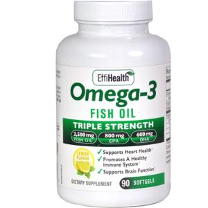 Omega 3 Bottle
