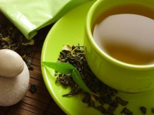 Green tea can help with weight loss